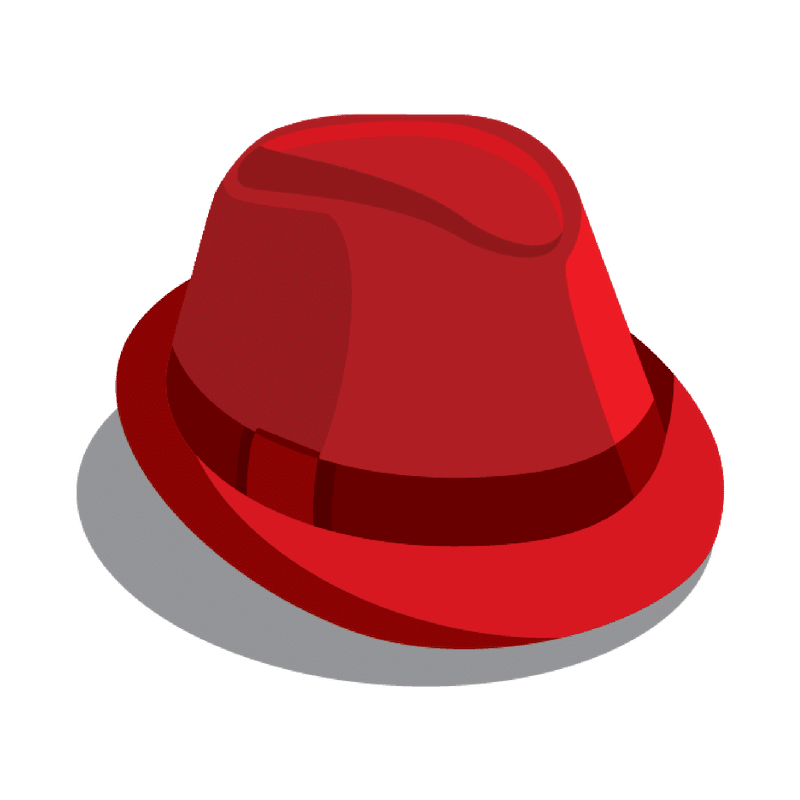 The Mob's Press Red Fedora